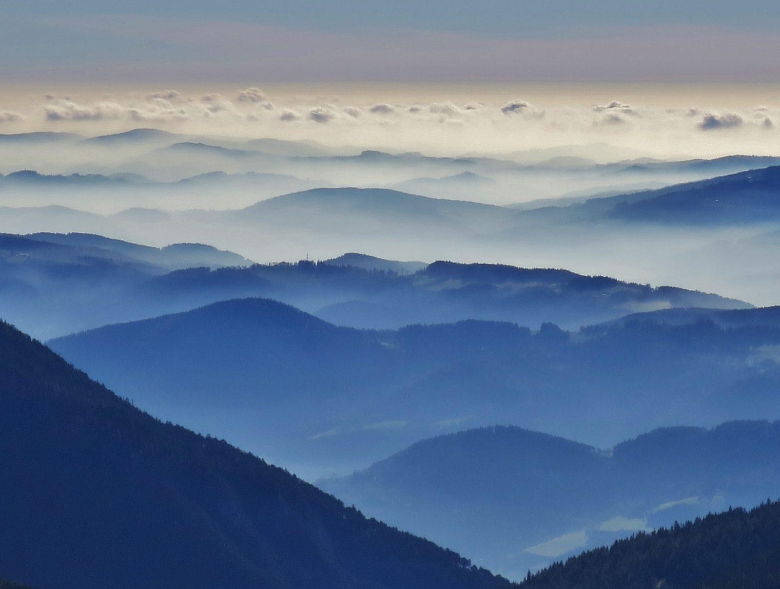 Inversion am Schneeberg